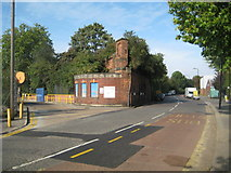 TQ1979 : South Acton: Bollo Lane and the former Acton Loop Line bridge by Nigel Cox