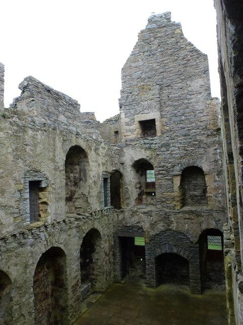 Scalloway: castle interior