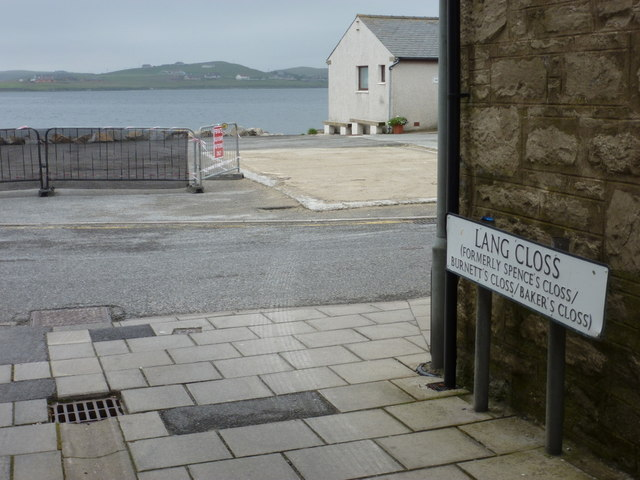 Scalloway: road with many names