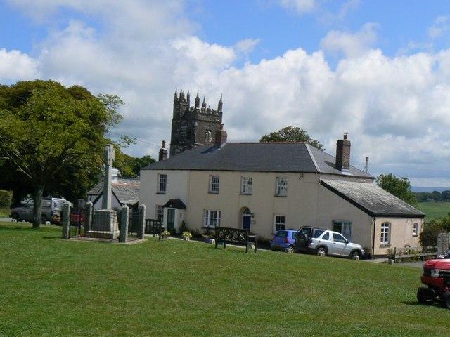 Ashwater village