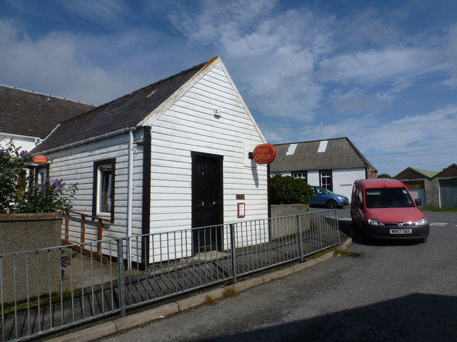 Ollaberry: the post office