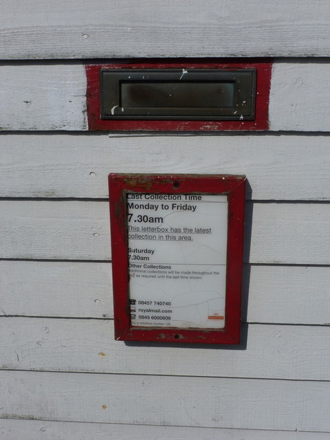 Ollaberry: postbox № ZE2 125
