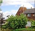 TQ6638 : Lindridge Place Farm Oast by N Chadwick