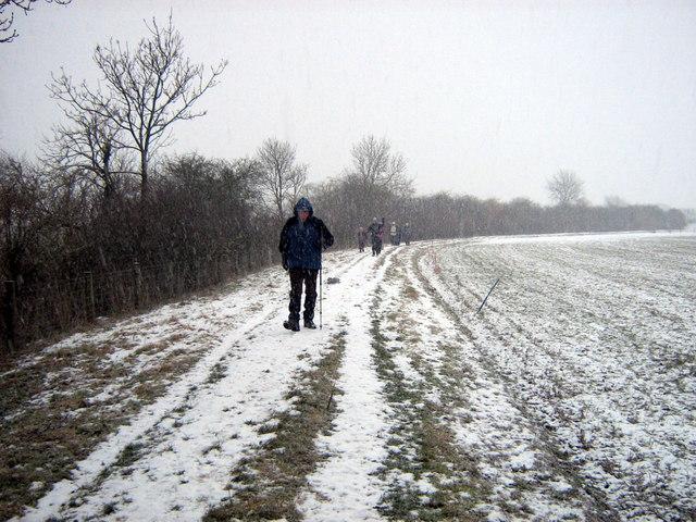 Public footpath near Brawby