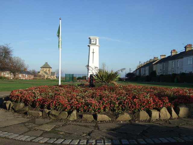 Park and clock tower, Horden