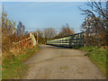 SJ9695 : Bridge over M67 by David Dixon