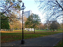 TQ2880 : Looking towards the London Bombings Memorial, Hyde Park by Marathon