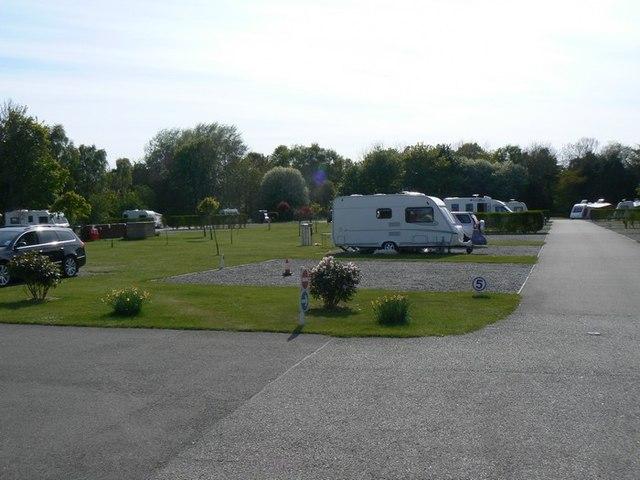Silverbank Caravan Club Site, Banchory