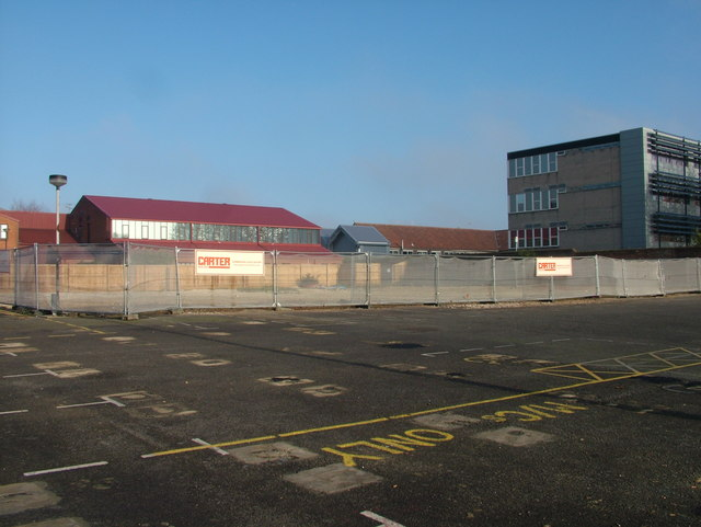 Building gone, West Suffolk College