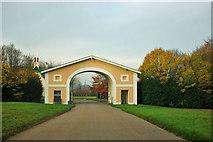 TQ1352 : Gateway, Polesden Lacey by Robin Webster