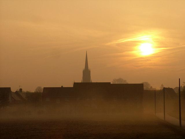 Misty morning, Tayfen Meadow