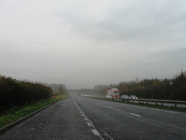 A69 in the morning murk