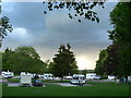 NY4850 : Englethwaite Hall Caravan Club Site by Colin Madge