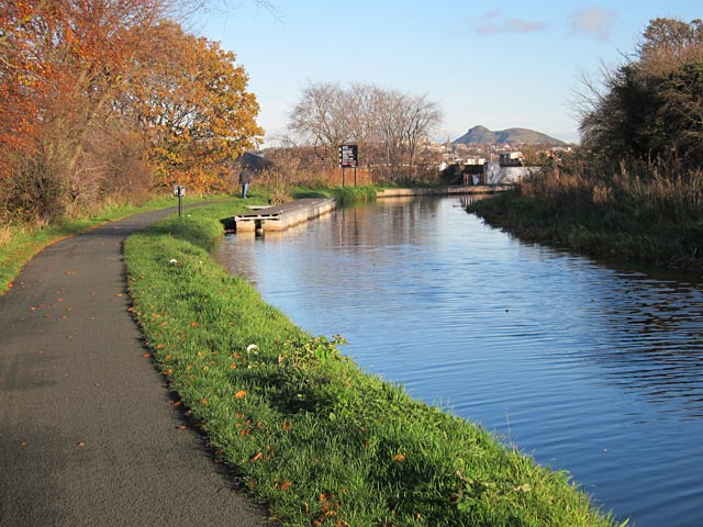 Union Canal at Slateford