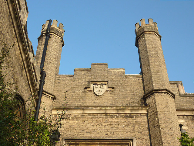 Gisborne Court (detail) at Peterhouse, Cambridge