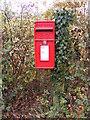 TM1773 : Bush Farm Corner Postbox by Adrian Cable