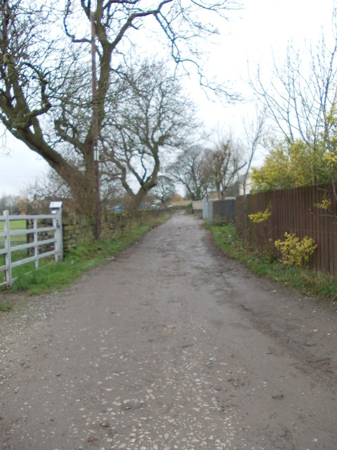 Carr House Gate - viewed from Carr House Lane