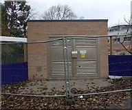 SE1527 : Electricity Substation No 51648 - Woodside Road by Betty Longbottom