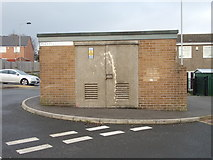 SE1527 : Electricity Substation No 1177 - Mayfield Rise by Betty Longbottom