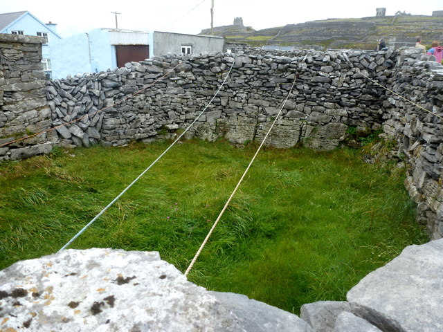 Clothes drying area - Inis Oírr
