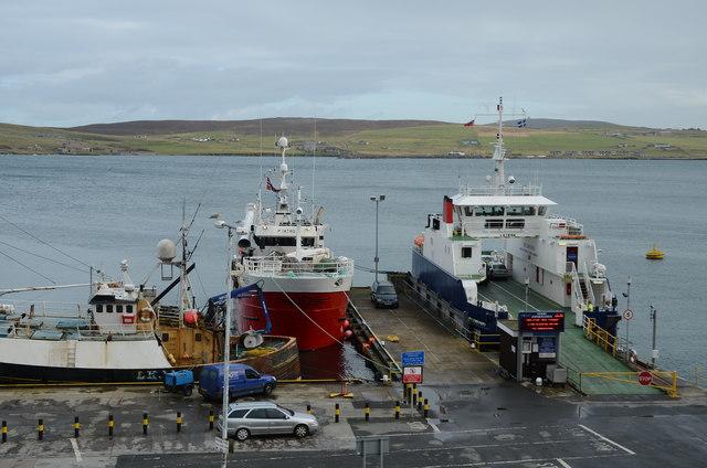Bressay ferry terminal