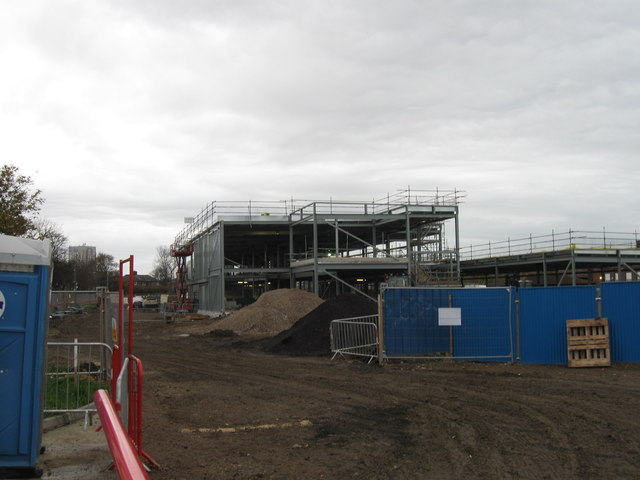 New school building, Hebburn