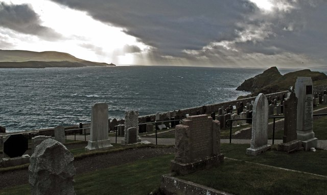 Bressay Sound from the Knabb cemetery