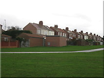 NZ3664 : Rear of houses on Harton Lane by Alex McGregor