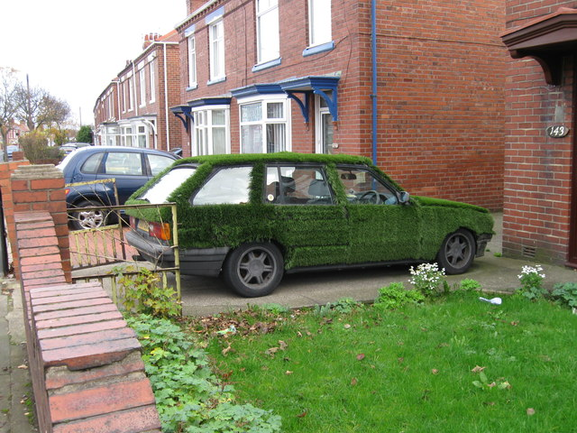 The ultimate green car