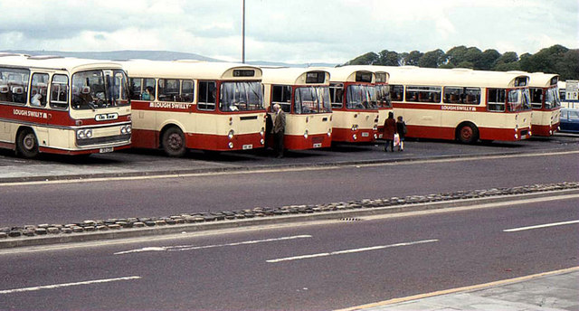 Swilly buses, Londonderry