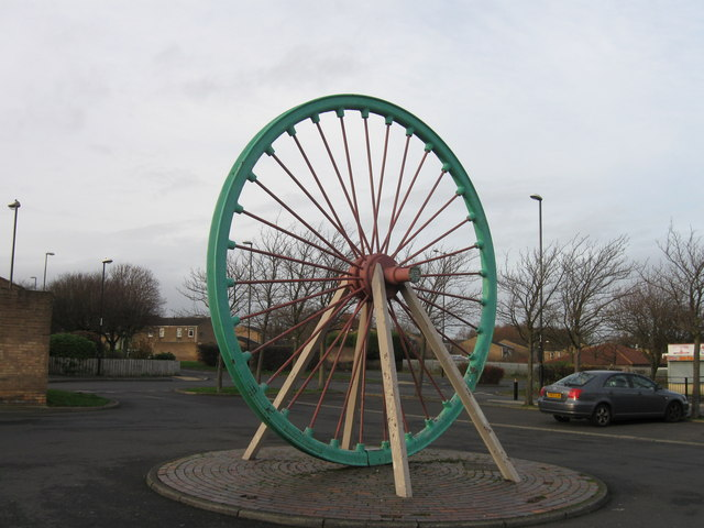 Pit top pulley wheel