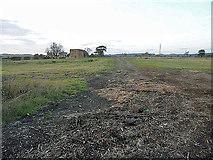 SJ5622 : Open field near Moreton Corbet Castle by Row17
