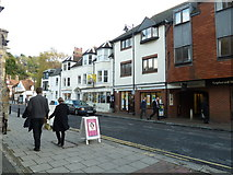 TQ4210 : Cliffe High Street on an autumn lunchtime by Basher Eyre