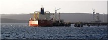 HU3974 : Loading Brent crude by Robert W Watt