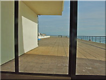 TQ7407 : The Roof Terrace, De La Warr Pavilion, Bexhill-on-Sea by Chris Whippet