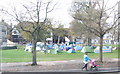 TQ3104 : Occupy Protest Camp, Victoria Gardens, Brighton by Chris Whippet