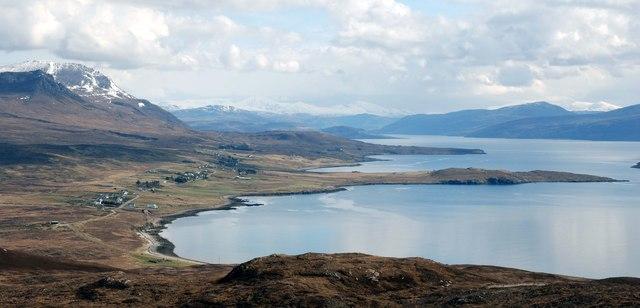 Achiltibuie and Polglass by Loch Broom