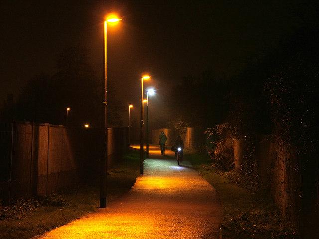 Odd one out, LED streetlight