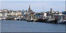 NB4232 : Stornoway Harbour by Robert W Watt