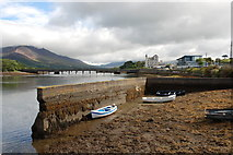 V4679 : Caherciveen harbour by Robert W Watt