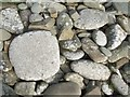HU5141 : Mosaic on stones by Rob Farrow