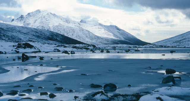 Loch na Davie in winter