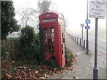 TQ3473 : K2 Telephone kiosk on Sydenham Hill by David Anstiss