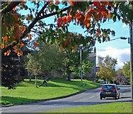 NZ0759 : The village green, Hedley on the Hill by Robert W Watt