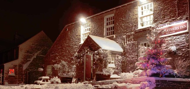 The village inn: a warm welcome on a cold night