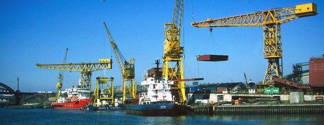 Shipbuilding at Sunderland