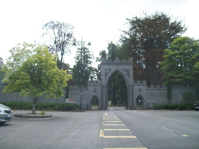Entrance Gate to Strokestown Park