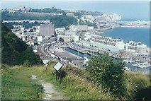 TR3140 : View of Dover by John Baker