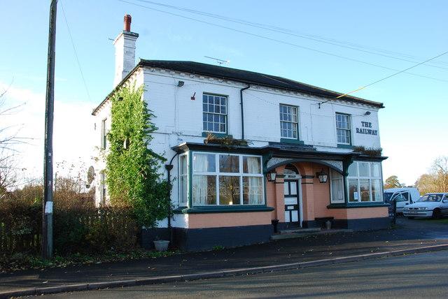 The Railway Public House at Norton Bridge