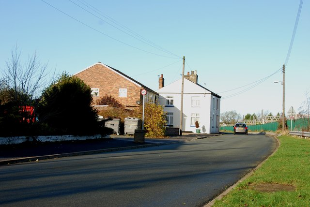 A View in Norton Bridge from opposite the Railway Public House